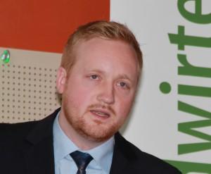 Eric Brenneke, Vorsitzender der Junglandwirte Niedersachsen