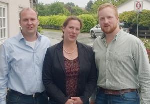 Der Vorstand der Junglandwirte Niedersachsen